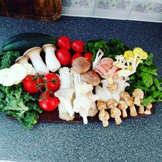 Exotic Mushrooms Box