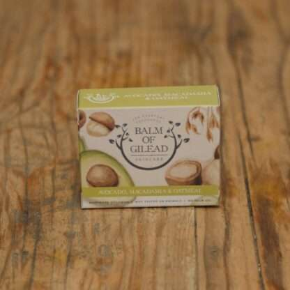 Balm Of Gilead Avocado, Macadamia & Oatmeal Soap