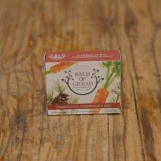 Balm Of Gilead Carrot Juice, Cedarwood & Pine Soap