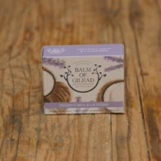 Balm Of Gilead Coconut Milk & Lavender Soap