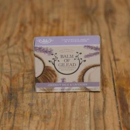 Balm Of Gilead Coconut Milk & Lavender Soap