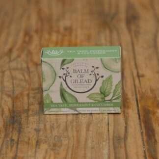 Balm Of Gilead Tea Tree, Peppermint & Cucumber Soap