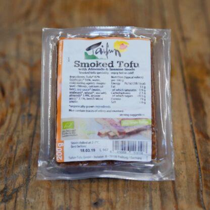 Taifun Tofu Almond/ Sesame Smoked 200g