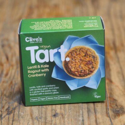 Clive's Lentil & Kale Tart