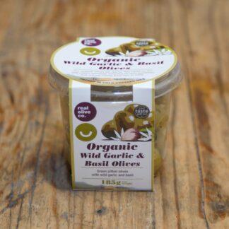 The Real Olive Company - Wild Garlic & Basil 185g