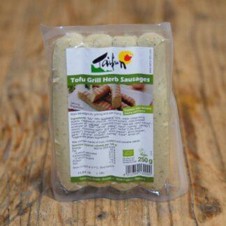Taifun Tofu Grill Herb Sausages 250g