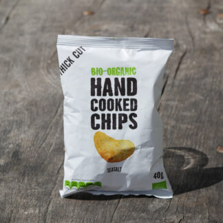 Hand Cooked Chips - Sea Salt (40g)
