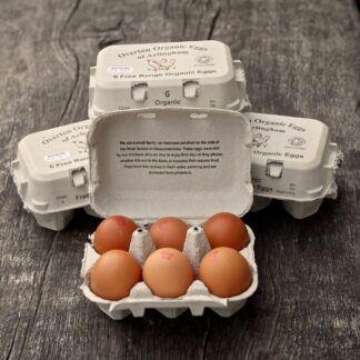 Organic Eggs from Happy Hens