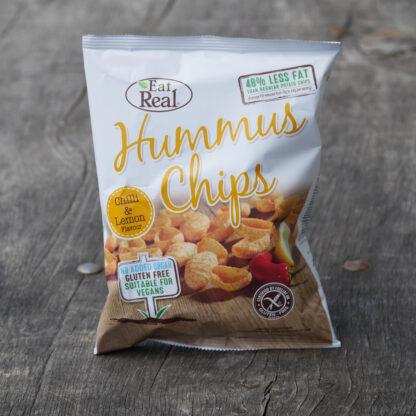 Eat Real Hummus Chip - Chilli & Lemon (45g)