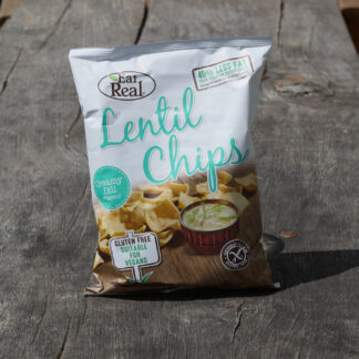 Eat Real Lentil Chips - Creamy Dill (40g)
