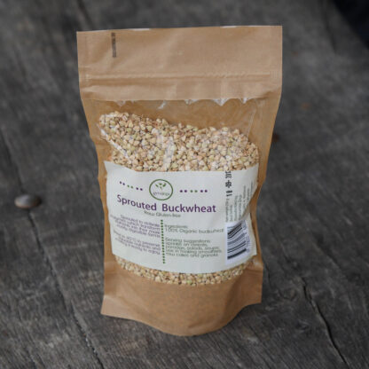 Sprouted Buckwheat