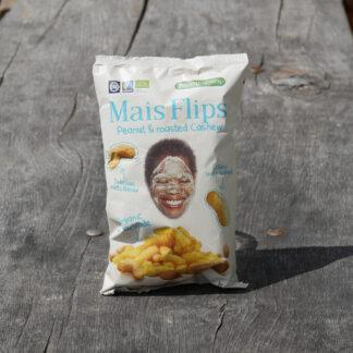 Mais Flips - Peanut & Roasted Cashew (75g)