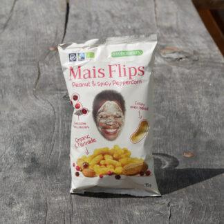Mais Flips - Peanut & Spicy Peppercorn (75g)