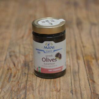 Mani Greek Kalamata Olives 205g