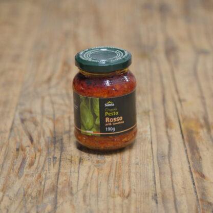 Suma Organic Pesto Rosso 190g (Vegan)
