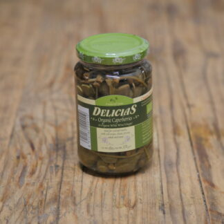 Delicias Caperberries in White Wine Vinegar 370g