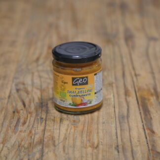 Geo Organics Thai Yellow Curry Paste 180g