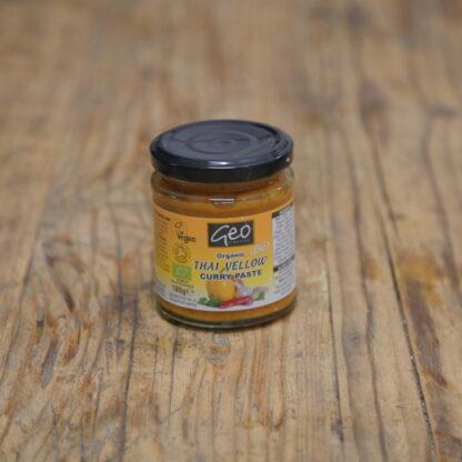 Geo Organics Thai Yellow Curry Paste 180g