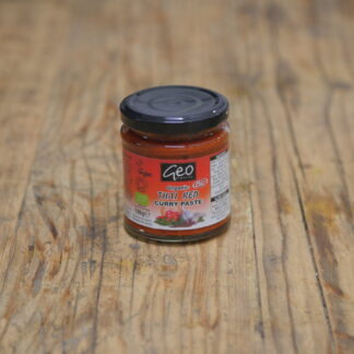 Geo Organics Thai Red Curry Paste 180g