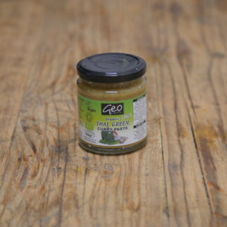 Geo Organics Thai Green Curry Paste 180g