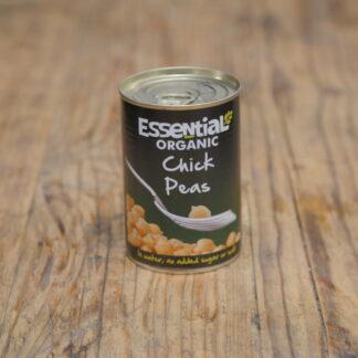 Essential Organic Chickpeas 400g