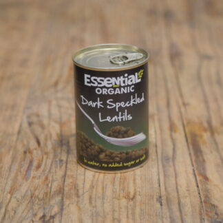 Essential Dark Speckled Lentils 400g