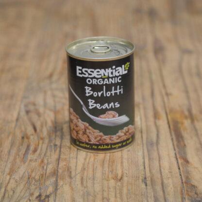 Essential Organic Borlotti Beans 400g