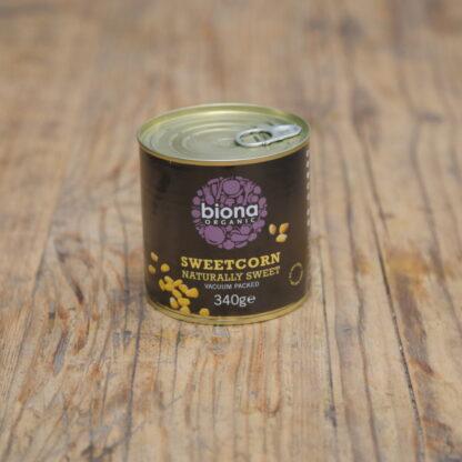 Biona Organic Sweetcorn 340g
