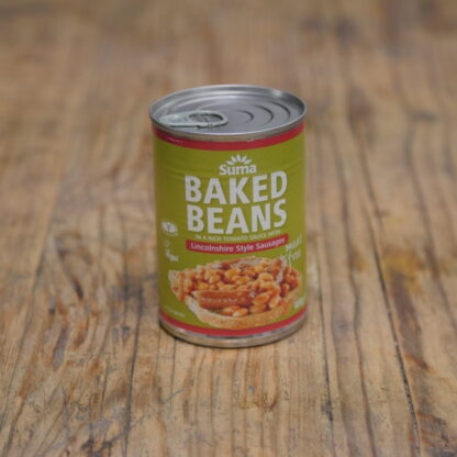 Suma Baked Beans With  Sausage 400g