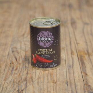 Biona Organic Chilli Black Beans 400g