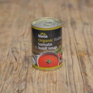 Suma Organic Tomato Basil Soup 400g