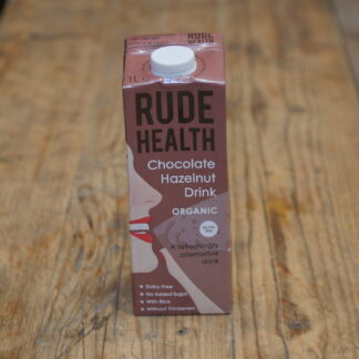Rude Health Chocolate Hazelnut Milk 1L