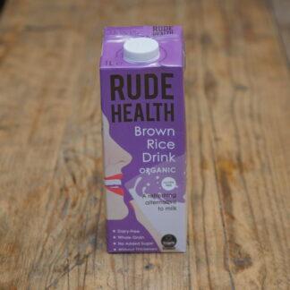 Rude Health Brown Rice Milk 1L