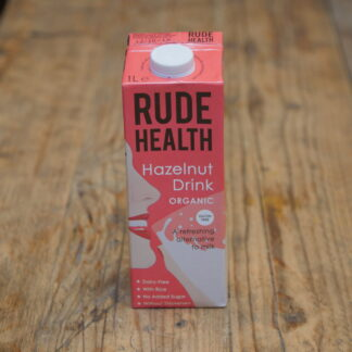 Rude Health Hazelnut Milk 1L