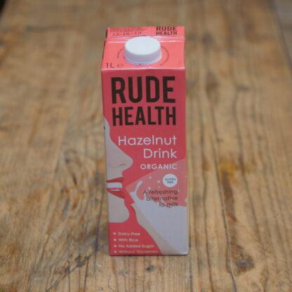 Rude Health Hazelnut Milk 1L