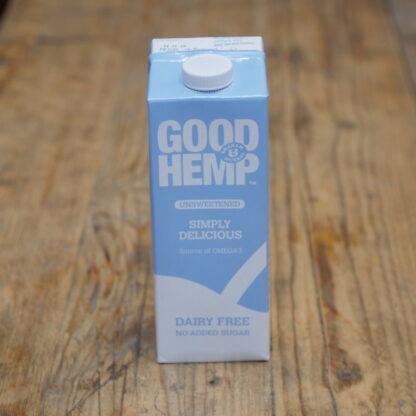 Good Hemp Unsweetened Hemp Milk 1L