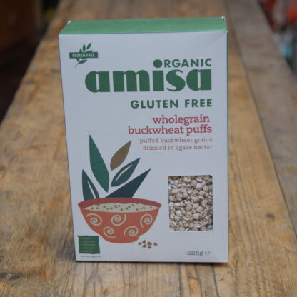 Amisa Wholegrain Buckwheat Puffs