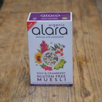 Alara Goji and Cranberry Museli