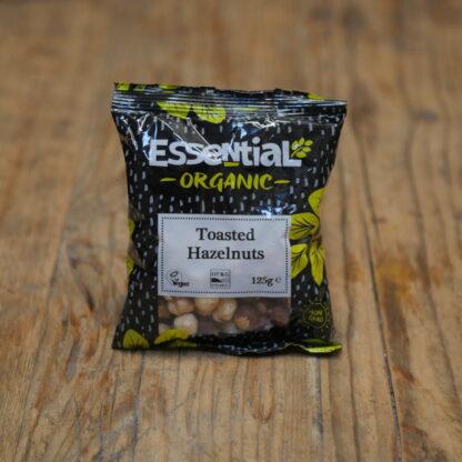 Essential Organic Toasted Hazelnuts 125g