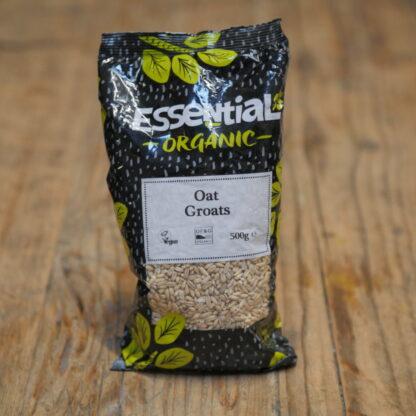 Essential Organic Oat Groats 500g