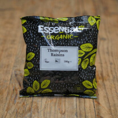 Essential Organic Thompson Raisin 500g