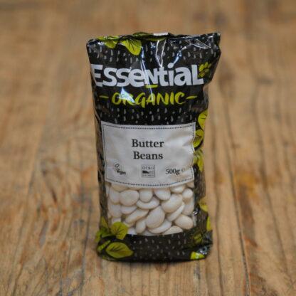 Essential Organic Butter Beans 500g