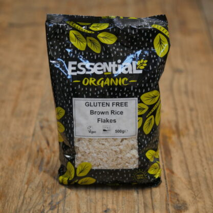 Essential Organic Brown Rice Flakes 500g