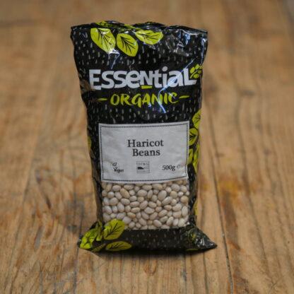 Essential Organic Haricot Beans 500g