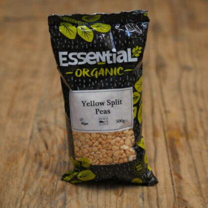 Essential Organic Yellow Split Peas 500g