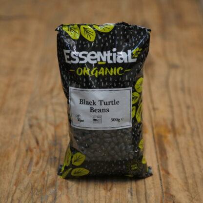 Essential Organic Black Turtle Beans 500g