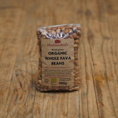 Hodmedods Organic Whole Fava Beans 500g