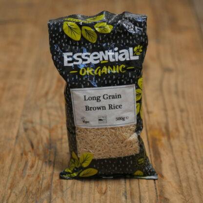 Essential Organic Long Grain Brown Rice 500g