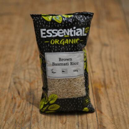 Essential Organic Brown Basmati Rice 500g