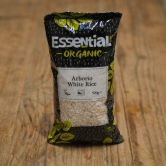 Essential Organic Arborio White Rice 500g